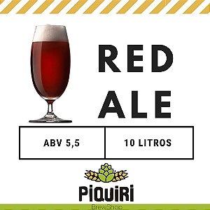 Kit receitas cerveja artesanal 10L Red Ale