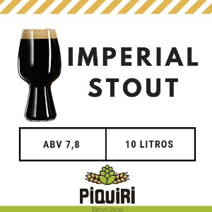Kit receitas cerveja artesanal 10L Imperial Stout