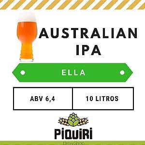 Kit receitas cerveja artesanal 10L Australian IPA Ella