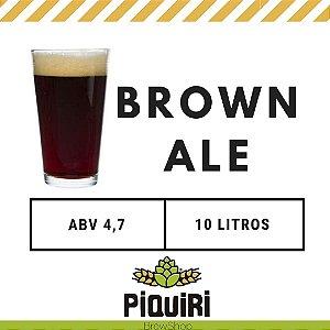 Kit receitas cerveja artesanal 10L Brown Ale