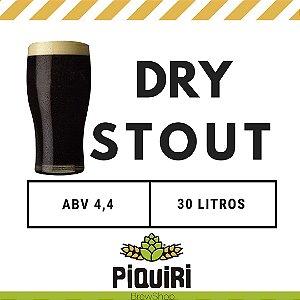 Kit receitas cerveja artesanal 30L Dry Stout