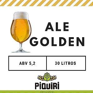 Kit receitas cerveja artesanal 30L Ale Golden