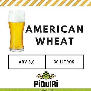 Kit receitas cerveja artesanal 30L American Wheat