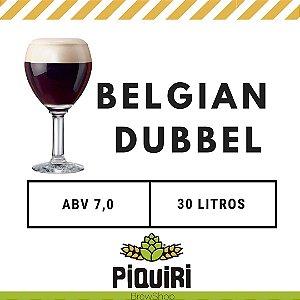 Kit receitas cerveja artesanal 30L Belgian Dubbel