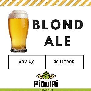 Kit receitas cerveja artesanal 30L Blond Ale