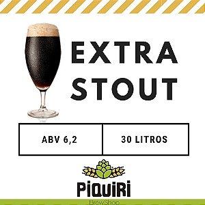 Kit receitas cerveja artesanal 30L Extra Stout