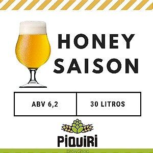 Kit receitas cerveja artesanal 30L Honey Saison