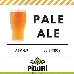 Kit receitas cerveja artesanal 30L Pale Ale