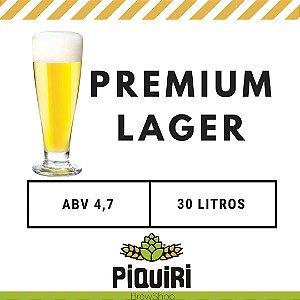 Kit receitas cerveja artesanal 30L Premium Lager