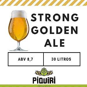 Kit receitas cerveja artesanal 30L Strong Golden Ale