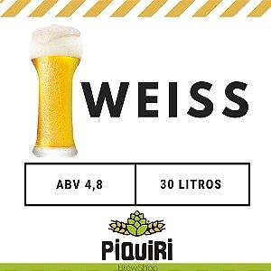 Kit receitas cerveja artesanal 30L Weiss