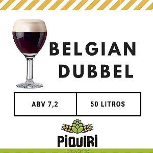 Kit receitas cerveja artesanal 50L Belgian Dubbel
