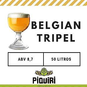 Kit receitas cerveja artesanal 50L Belgian Tripel