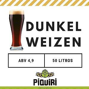 Kit receitas cerveja artesanal 50L Dunkelweizen