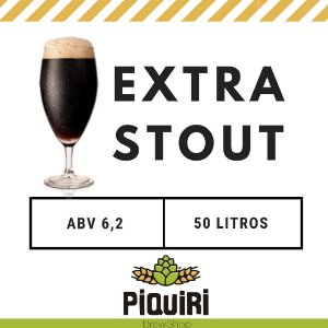 Kit receitas cerveja artesanal 50L Extra Stout