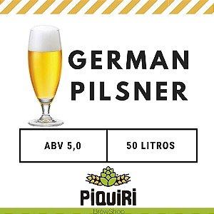 Kit receitas cerveja artesanal 50L German Pilsner