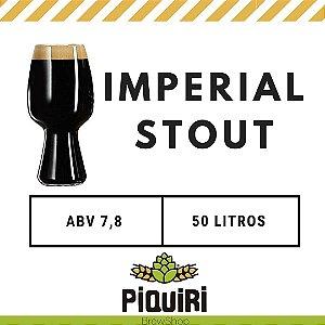Kit receitas cerveja artesanal 50L Imperial Stout