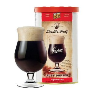 Beer Kit Coopers Devils Half Ruby Porter - 1 un
