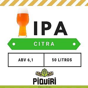 Kit receitas cerveja artesanal 50L IPA CItra