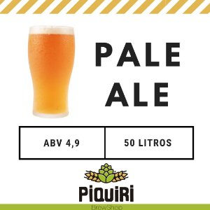 Kit receitas cerveja artesanal 50L Pale Ale