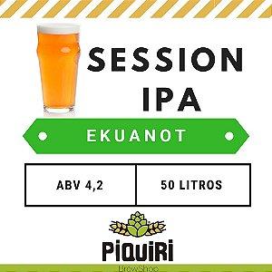 Kit receitas cerveja artesanal 50L Session IPA Ekuanot