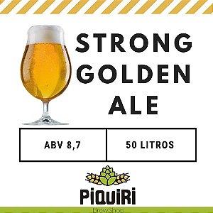 Kit receitas cerveja artesanal 50L Strong Golden Ale