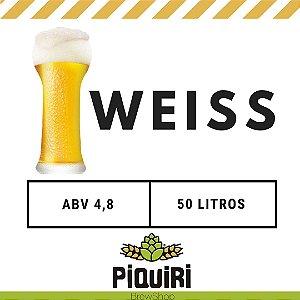 Kit receitas cerveja artesanal 50L Weiss