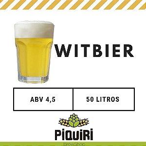 Kit receitas cerveja artesanal 50L Witbier