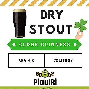 Kit receitas cerveja artesanal  30L Clone Guinness