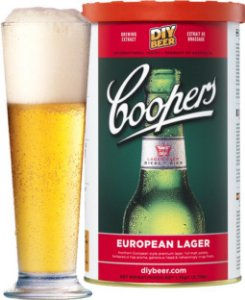 Beer Kit Coopers European Lager - 1 un