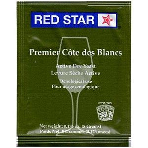 Fermento Red Star Premier Côte des Blancs - 5g