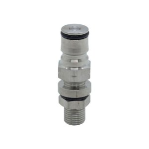Terminal Ball Lock Gas com Base Rosca 1/4""