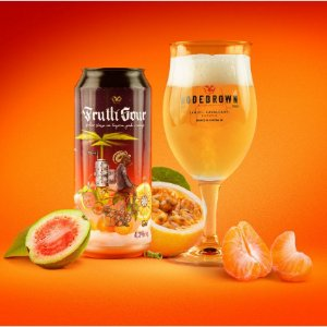 Cerveja Bodebrown Frutti Sour - 473ml (lata)