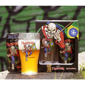 KIT TROOPER - Cerveja Bodebrown Trooper Brasil IPA - 473ml (lata) + Pint Eddie
