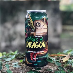 Cerveja Big Jack American Ipa com Pitaya Dragon- Lata 473ml