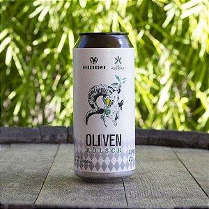 Cerveja Bodebrown Oliven Kölsch - 473ml (lata)