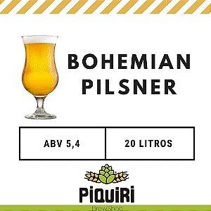 Kit receitas cerveja artesanal  20L Bohemian Pilsner