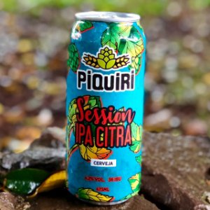 Cerveja Piquiri Session IPA Citra - Lata 473ml
