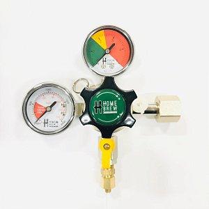 Regulador de Pressão para CO2 - 1 Via - ALUMÍNIO