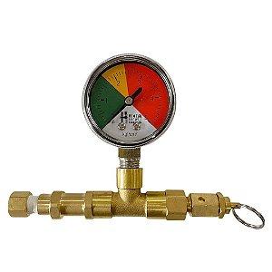 Válvula de Alívio Regulável para Conectores Ball/Pin rosca 7/16-20