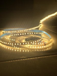 FITA LED 2835 12v 5M 24W 120Led/M 600  LED IP20 - BQ 3500k