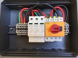Stringbox Solar 1 Entrada / 1 Saída 1000dc