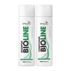 Kit Shampoo e Condicionador Bioline Organic SPHAIR