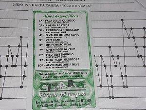 COLETÂNEA 05 HARPA CRISTÃ 10 PARTITURAS