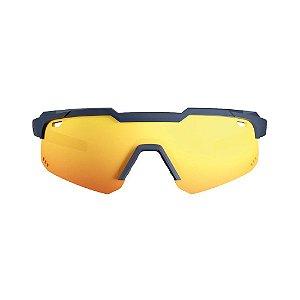 Óculos De Sol Hb Shield Evo M Matte Navy Multi Red