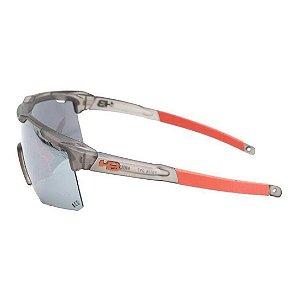 Óculos De Sol Hb Shield Compact M Matt Black Onyx Silver