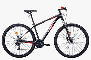 Bicicleta Trinx M100 Max 24v Preto Vermelho Tam 15