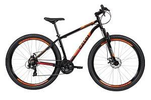 Bicicleta Caloi Vulcan 29 Aro 29 21 V Disco Preto Tam 17