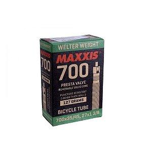 Câmara de Ar Maxxis 700x35/45 Welter Weight Valvula Presta