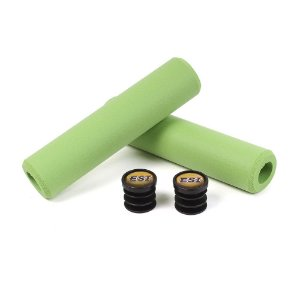 Manopla ESI Grips Extra Chunky Silicones Grips Verde